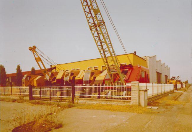 Verdelli International Sandamaso Parco macchine Anno 1980