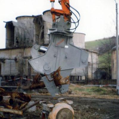 Cesoia idraulica in opera - Verdelli International