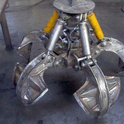 Polipo idraulica in acciaio grezzo - Verdelli International