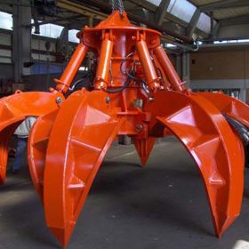 Grappin polype hydraulique